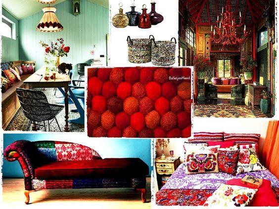 Kräftige #Dekorationsfarben wie rot oder gelb gelten als tolle #Sommerfarben! Allerdings gilt bei kräftigen Dekorationsfarben immer der Leitsatz: je reiner desto kleiner! Also das ganze Zimmer mit Rot zu dekorieren wäre zu viel, aber ein passender #Filzkugelteppich kann immer die gute Lösung sein! http://www.sukhi.de