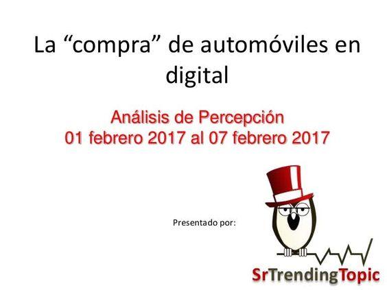 """Te dejamos el análisis del tema de la """"oferta de automóviles en digital"""" que vimos ayer en #AutosEnImagen. http://qoo.ly/dpcej"""