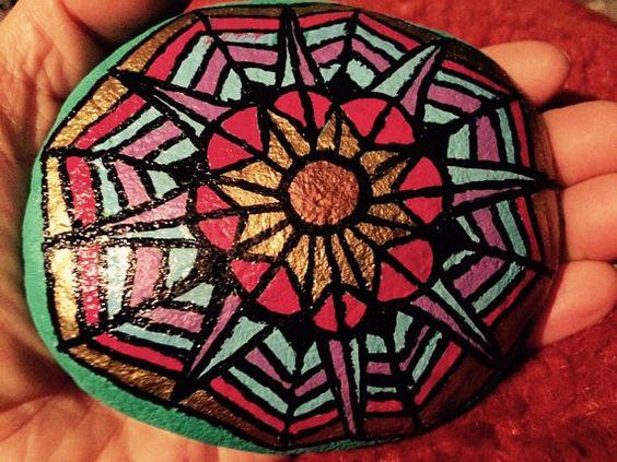 SOLD Mandala flower