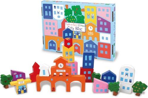 city bloc, puzzle de la ville