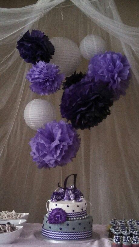 baby showers purple baby and lantern decorations on pinterest