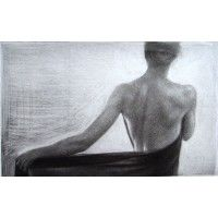 """Sun"" - 1. Mezzotint by Marina Kim"