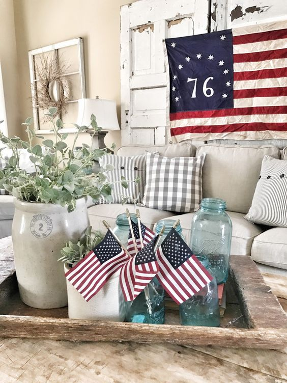 3 Easy Ways to Decorate for The Fourth Of July | Bless This Nest
