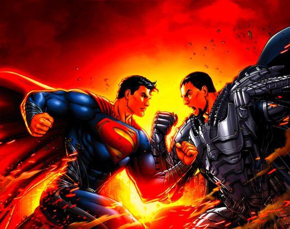 Superman Vs. General Zod