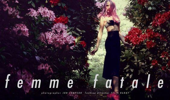 Twenty6 Magazine  Ph: Jon Compson, Styling: Tilly Hardy, Hair: Sorichi Inagaki, Make-up: Shama, Models: Alek & Alexandra Carl