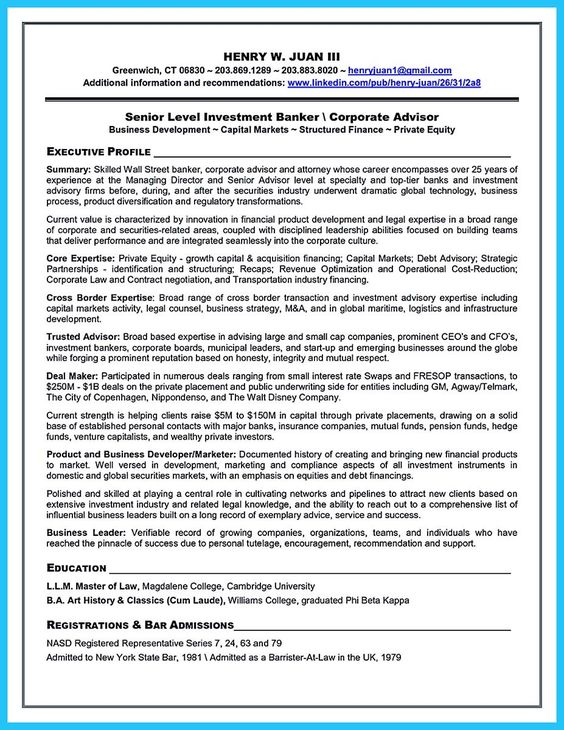 cool One of Recommended Banking Resume Examples to Learn, Check more ...
