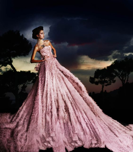 Galiano Royale by Simon Procter for Bazaar, Celebrating 10 years of ...