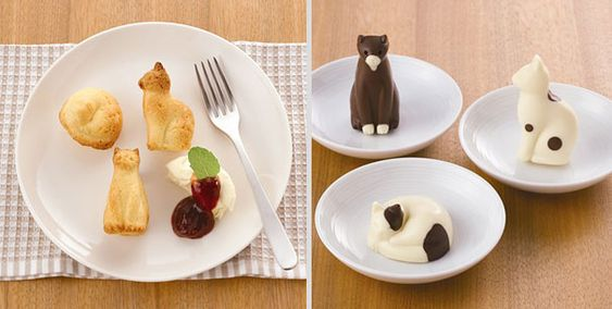 Cat-shaped silicone baking mold <3   !!!!!! (23 Great Gift Ideas For Cat Lovers | Bored Panda)