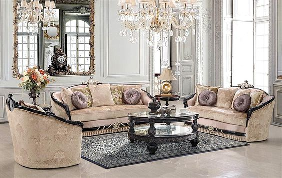 awesome  20+ Stunning Formal Living Room Furniture Set , A formal living room, wherever as we hear formal, there will be something boring and old style look. You might think the same way for the area where t..., http://www.designbabylon-interiors.com/20-stunning-formal-living-room-furniture-set/