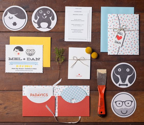 awesome graphic invites