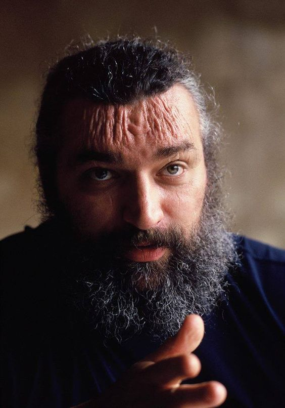 Bruiser Brody. An amazing shot of all the blade marks on the late legend..