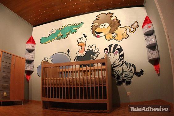 Stickers pour enfants Lion
