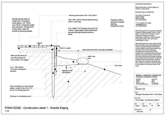 Garden designs & landscape construction details, Wiltshire | ACLA ltd