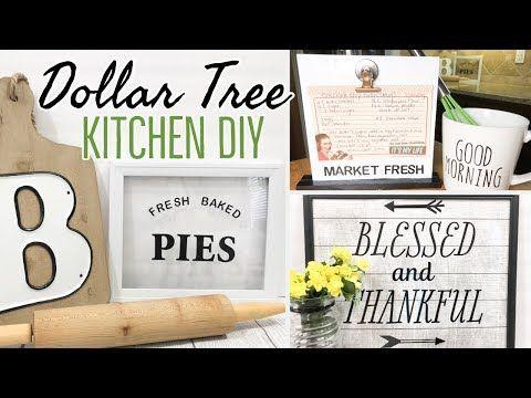 coffee shop kitchen decor.htm farmhouse kitchen decor dollar tree diy youtube dollar tree  farmhouse kitchen decor dollar tree