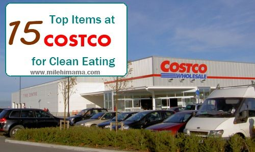 15 items costco clean eating grocery list