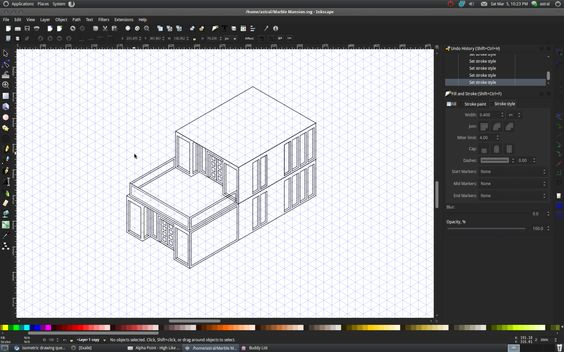 Inkscape - isometric drawing question | DigiMedia | Pinterest ...