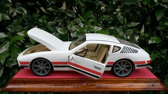 SP 2 carro todo em madeira