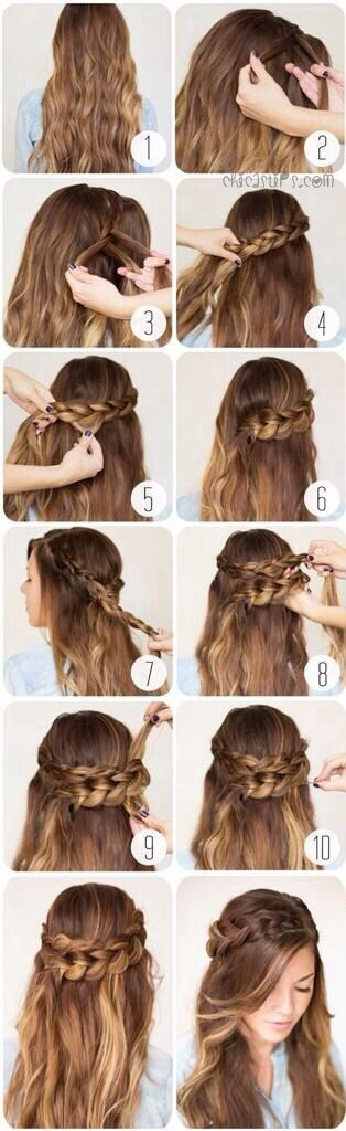 Peinados con pelo suelto