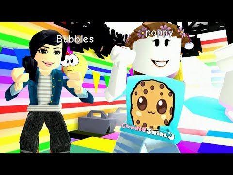 Fun Surprise Meeting Cookieswirlc Fans Exploring Roblox Meepcity