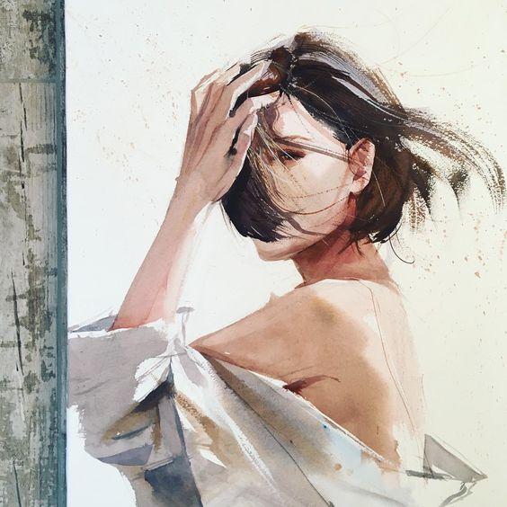 Watercolorist: @kalachevaveronika #waterblog #акварель #aquarelle #drawing #art #artist #artwork #painting #illustration #watercolor #aquarela