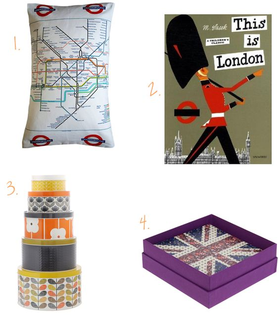 london gifts with a twist via sunny by design