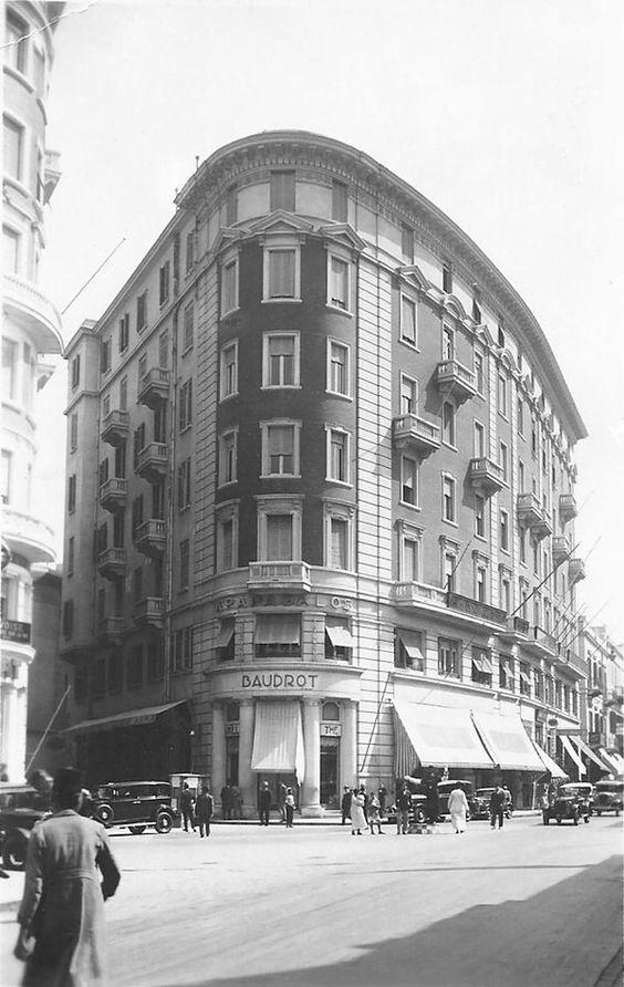شارع فؤاد الأول، الإسكندرية، ١٩٣٧.