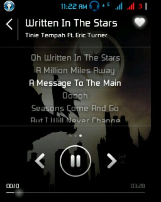 Written in the stars - feat eric turner