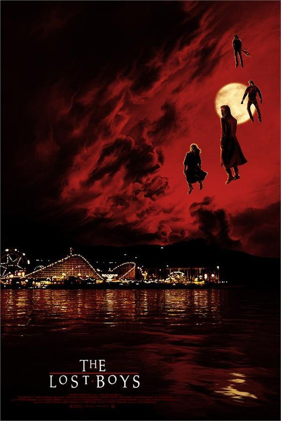 Pin By Kim Jovi On My Favorite Fangtastic Vampire Movies In 2020 Lost Boys Movie Lost Boys Boys Posters