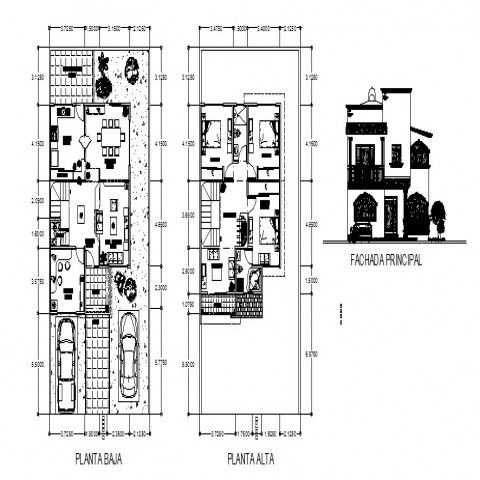 Residential Two Story Bungalow Drawings Autocad File Architecture Drawing Floor Plans Autocad