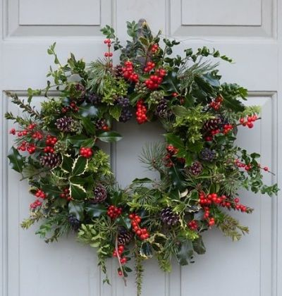 Rich Pickings Bespoke Christmas Wreaths Gloucestershire