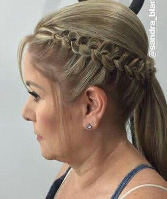 Pin De Amy En Long Hair Design Trenzas Para Senoritas Peinados Con Trenzas Peinados Poco Cabello