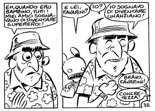 Leo Ortolani e la concretezza.: