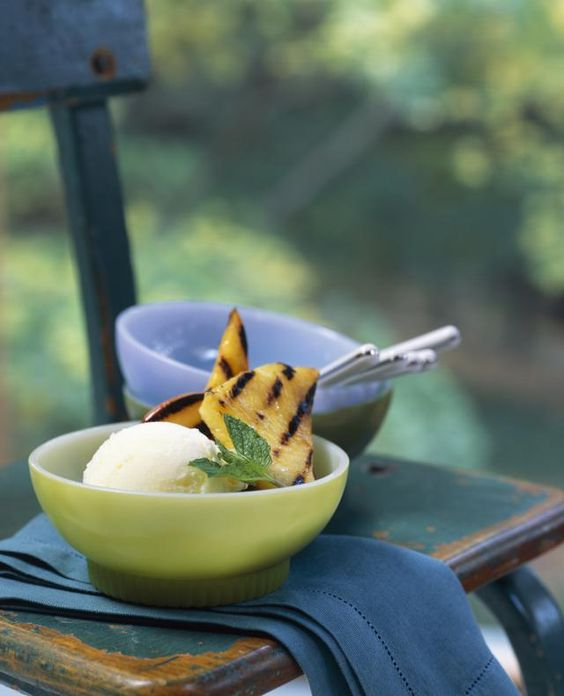 This grilled pineapple dish not only makes a delicious dessert but a spectacular dish to grill.