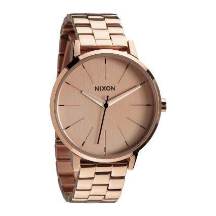 Nixon - A099897-00 - Montre Femme - Quartz Analogique - Bracelet Acier Inoxydable Doré: Amazon.fr: Montres