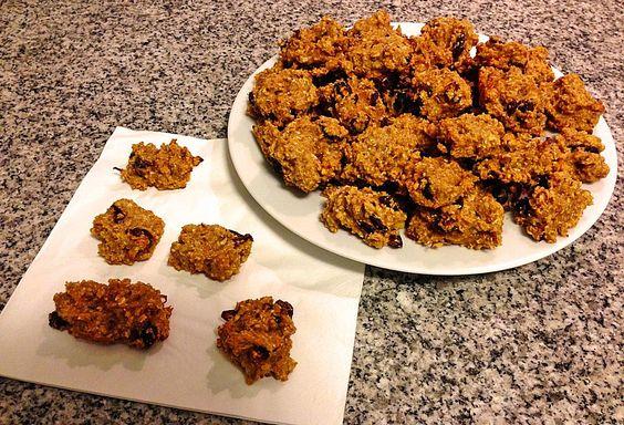 Apfel - Haferflocken - Kekse (Rezept mit Bild) von Simone11 | Chefkoch.de
