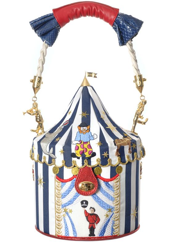 Ines Figaredo - Collection Aperture - Big Circus Bag: