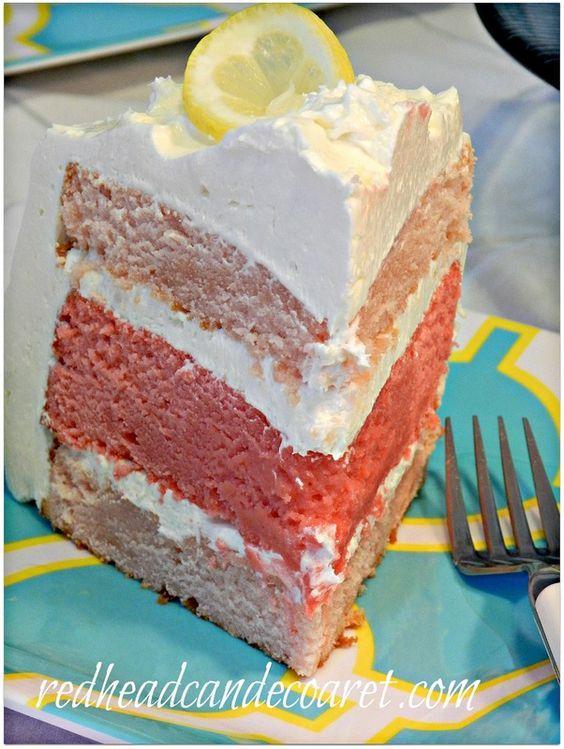 Pink Lemonade Cake Recipe Better Homes And Gardens