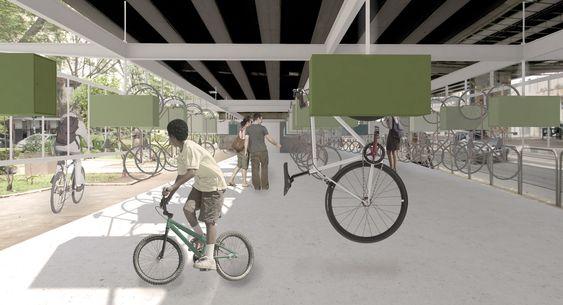 Resultados do 1º Prêmio {CURA}: Bicicletário