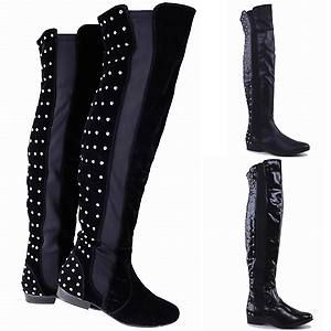 over the knee studded boots | Gommap Blog