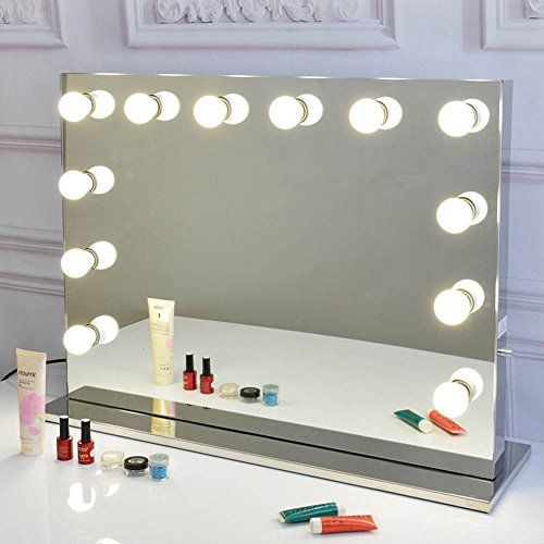 Makeup Vanity Mirror With Lights, Vanity Bulb Mirror