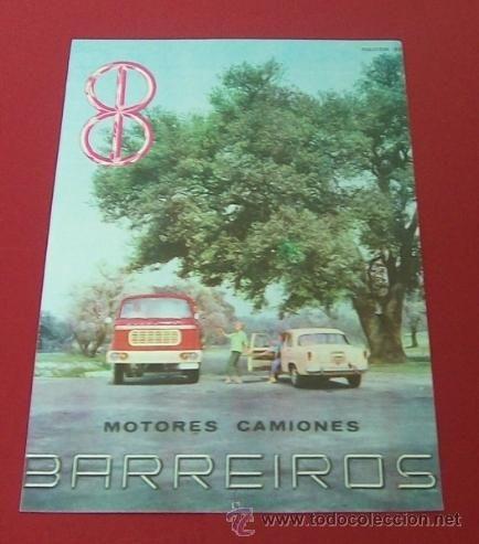 1960 PUBLICIDAD BARREIROS MOTOR ANUNCIO ORIGINAL DE PRENSA