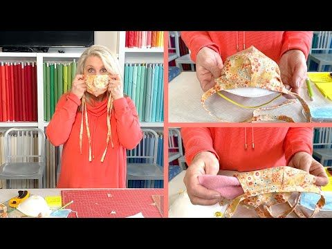 Fabric Face Mask Riley Blake Designs In 2020 Riley Blake Designs Face Mask Easy Sewing Projects