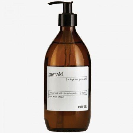 """Meraki Pure Oil """"Orange and geranium"""", 500 ml"""
