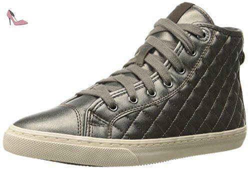 New Club E, Sneakers Hautes Femme, Noir (Blackc9999), 41 EUGeox