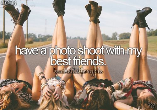 tumblr bucket list best friend photoshoot