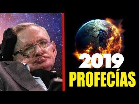5 Escalofriantes Profecias De Stephen Hawking Para El 2019 Youtube Stephen Hawking Fisica Teorica Profecias Mayas