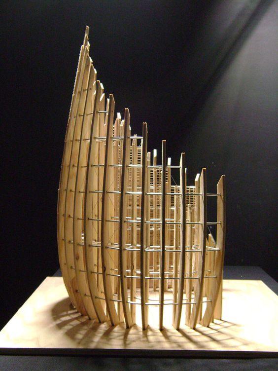 Renzo Piano scale Model