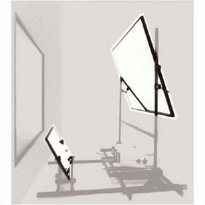 Mirror tec glass mirrors for rear projection size 60 for Mirror projector