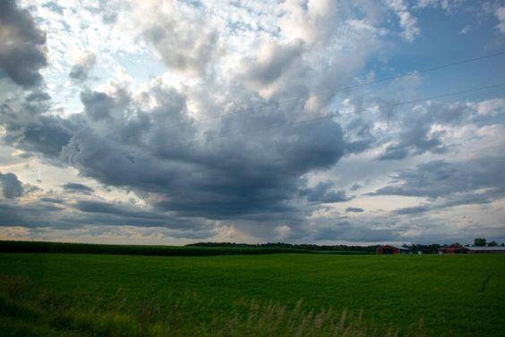 Northern Michigan skies | Cheboygan MI by rebeccaleimbach