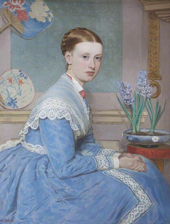 Emily Caroline Massingberd (1847–1897), Mrs Edmund Langton Massingberd, John Collingham Moore (1829–1880):